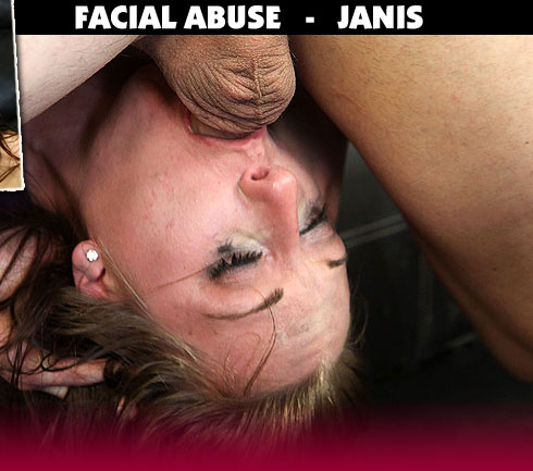 Janis Gets Face Fucked